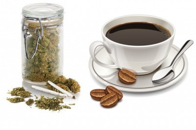 Do coffee and cannabis have same effects on our brain?